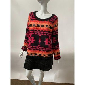 Aztec Patterned Sweater